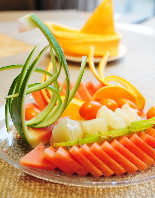 西瓜简易水果拼盘