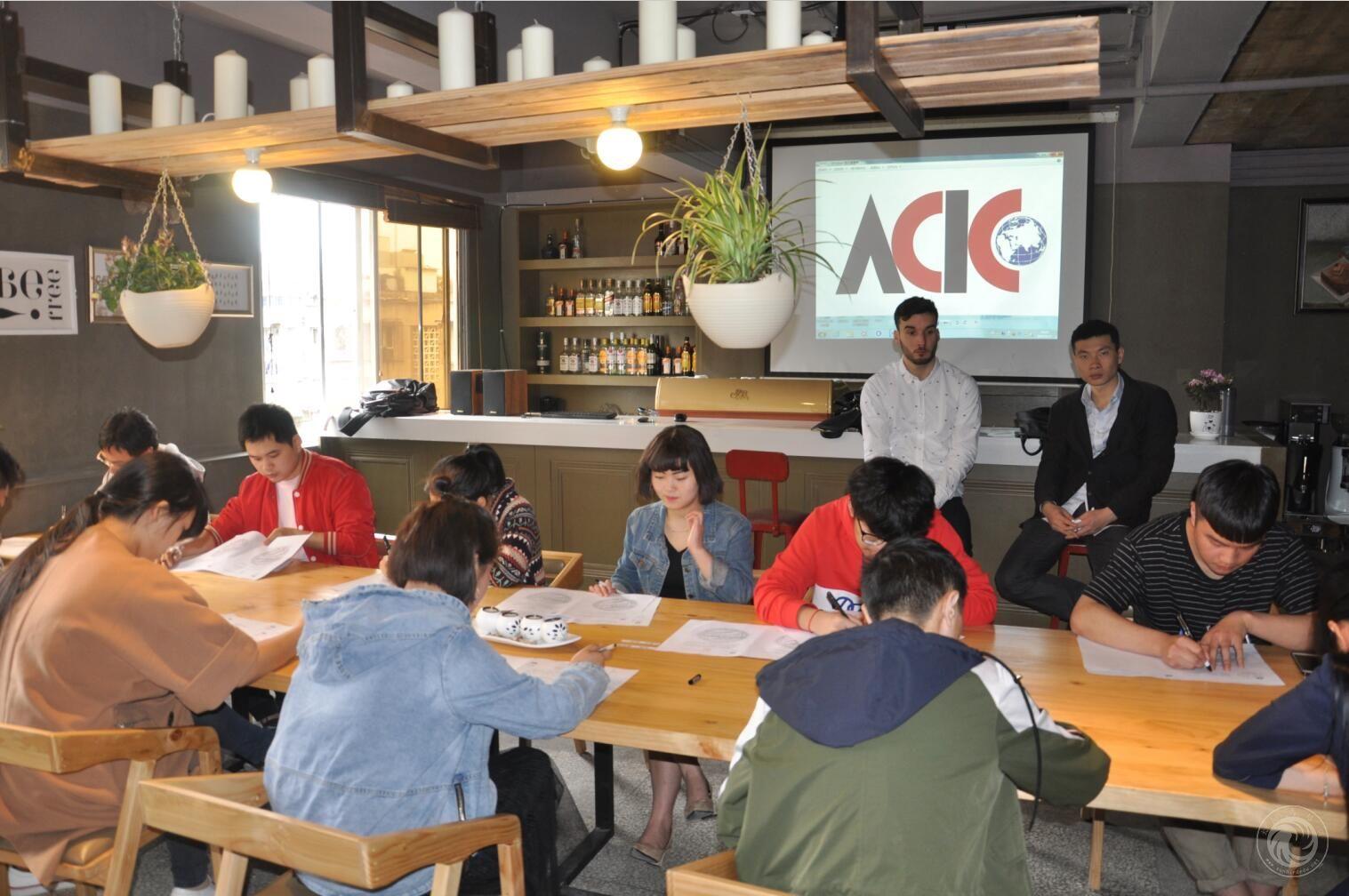 太阳鸟学校ACIC国际咖啡师 西点师证书考试顺利完成